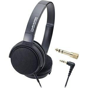オーディオテクニカ audio-technica ヘッドホン ATH-EP300 BK[ATHEP300BK]