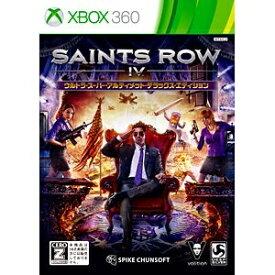 スパイクチュンソフト Spike Chunsoft セインツロウ IV ウルトラ・スーパー・アルティメット・デラックス・エディション【Xbox360】