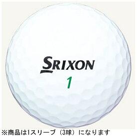 ダンロップ DUNLOP 【スリーブ単位販売になります】ゴルフボール SRIXON TRI-STAR《1スリーブ(3球)/ホワイト》【オウンネーム非対応】 【代金引換配送不可】