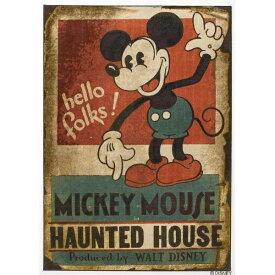 スミノエ SUMINOE ラグ ミッキーマウス/ホーンテッドハウス(140×200cm/レッド)【日本製】[DRM1035140X200]