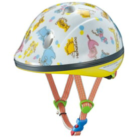 OGK 子供用ヘルメット ピーチキッズ(ズーホワイト/47~51cm)[PEACHKIDS]