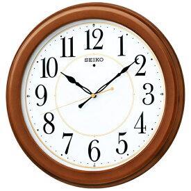 セイコー SEIKO 掛け時計 【スタンダード】 茶木地 KX388B [電波自動受信機能有]