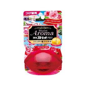 小林製薬 Kobayashi 液体ブルーレットアロマ フローラルアロマの香り 無色の水 つめかえ用〔トイレ用洗剤〕【rb_pcp】