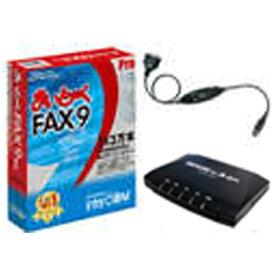 インターコム inter COM 〔Win版〕 まいと〜く FAX 9 Pro モデムパック(USB変換ケーブル付き)