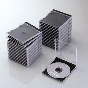 Blu-ray/DVD/CDケース 標準/PS/1枚収納 CCD-JSCN30