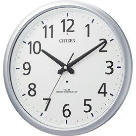 シチズン CITIZEN 掛け時計 【スペイシーアクア493】 シルバー 8MY493-019 [電波自動受信機能有][8MY493019]
