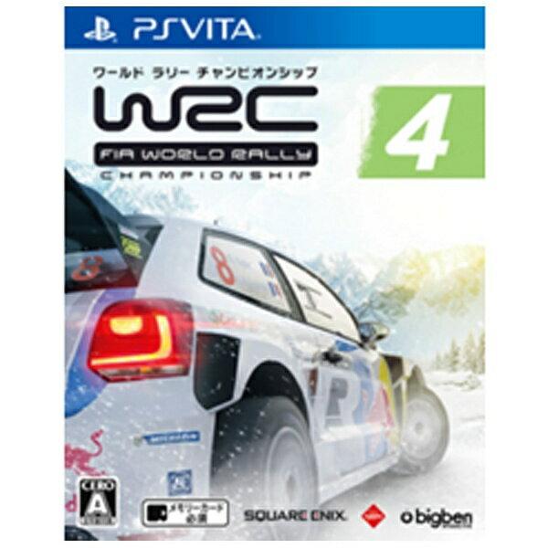 スクウェアエニックス SQUARE ENIX WRC 4 FIA ワールドラリーチャンピオンシップ【PS Vitaゲームソフト】[WRC4FIA゜]