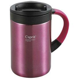 キャプテンスタッグ CAPTAIN STAG シーエスプリ ダブルステンレスマグカップ350(ピンク) M5375