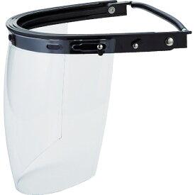 トラスコ中山 ヘルメット取付型防災面 簡単着脱タイプ BMHFC