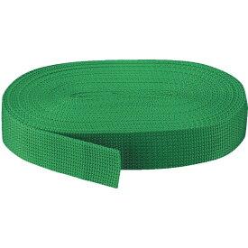 トラスコ中山 PPベルト幅30mmX長さ10m 緑 PPB3010