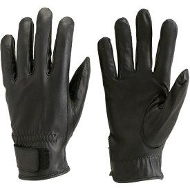 トラスコ中山 ウェットガード手袋 Lサイズ ブラック DPM810