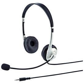 サンワサプライ SANWA SUPPLY ヘッドセット ホワイト MM-HS525TABN [φ3.5mmミニプラグ /両耳 /ヘッドバンドタイプ][MMHS525TABN]