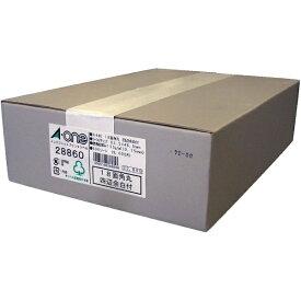 エーワン A-one ラベルシール インクジェット 四辺余白付・角丸 ホワイト 28860 [A4 /500シート /18面 /マット][宛名シール]
