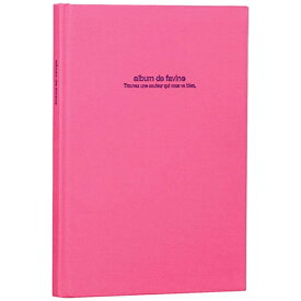 ナカバヤシ Nakabayashi 100年台紙アルバム/ドゥファビネ(B5サイズ/ブック式フリーアルバム/ピンク)アH-B5B-141-P[アHB5B141P]