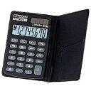 シチズンシステムズ CITIZEN SYSTEMS 手帳型電卓 DE8001Q [8桁][DE8001Q]