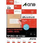 エーワン A-one ラベルシール プリンタ兼用 ホワイト 72224 [A4 /22シート /24面 /マット]【rb_mmme】