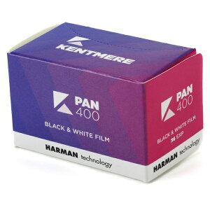 ケントメア Kentmere 高感度モノクロフィルム Kentmere PAN 400 135-36枚撮り KMP40013536[PAN40013536EX]