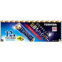 東芝 TOSHIBA LR03H 12MP 単4電池 IMPULSE(インパルス) [12本 /アルカリ][LR03H12MP]