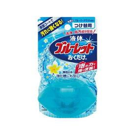 小林製薬 Kobayashi 液体ブルーレットおくだけ 清潔なブルーミーアクアの香り 無色の水 つめかえ用〔トイレ用洗剤〕【rb_pcp】