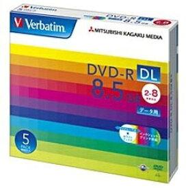 Verbatim バーベイタム DHR85HP5V1 データ用DVD-R ホワイト [5枚 /8.5GB /インクジェットプリンター対応]