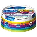 三菱化学メディア 2〜8倍速対応 データ用DVD-R DLメディア (8.5GB・25枚) DHR85HP25V1