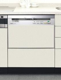 パナソニック Panasonic NP-P60V1PSPS ビルトイン食器洗い乾燥機 FULLオープン 汚れはがしミストシリーズ シルバー [7人用][NPP60V1PSPS 食洗機]