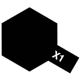 タミヤ TAMIYA タミヤカラー アクリルミニ X-1 ブラック【rb_pcp】