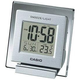 カシオ CASIO 温度計付き目覚まし時計 シルバー DQ-735-8JF [デジタル]