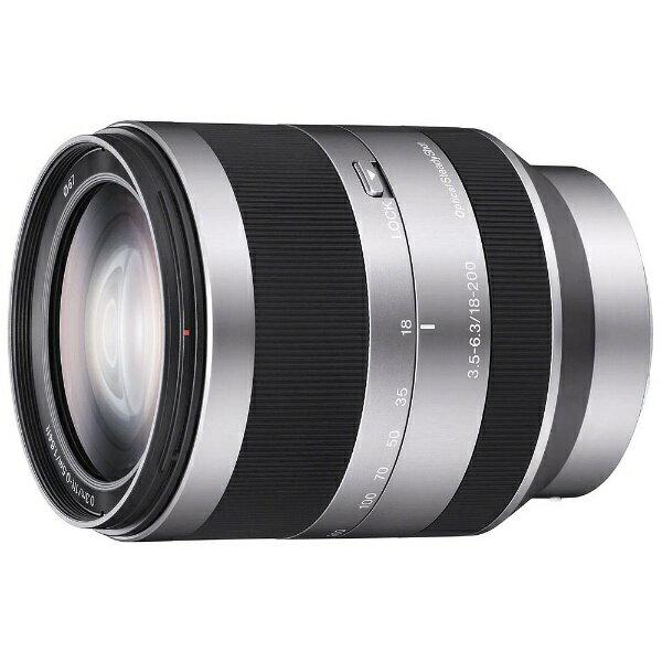 ソニー SONY カメラレンズ E 18-200mm F3.5-6.3 OSS【ソニーEマウント(APS-C用)】[SEL18200]