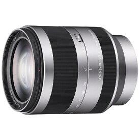 ソニー SONY カメラレンズ E 18-200mm F3.5-6.3 OSS APS-C用 シルバー SEL18200 [ソニーE /ズームレンズ][SEL18200]