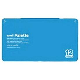三菱鉛筆 MITSUBISHI PENCIL [色鉛筆] No.880 uni Palette 水色 12色 K88012CPLT.8[K88012CPLT.8]