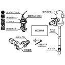 【送料無料】 パナソニック Panasonic 給水コンセント CB-HA6[CBHA6] panasonic
