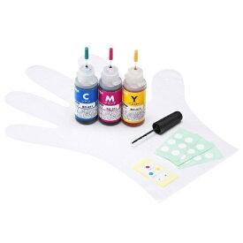サンワサプライ SANWA SUPPLY INK-C311S30S 詰め替えインク 3色一体型[INKC311S30S]【wtcomo】