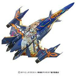 バンダイ BANDAI プラスチックキット 1/100 劇場版マクロスF 恋離飛翼 YF-29 シェリルマーキングVer.