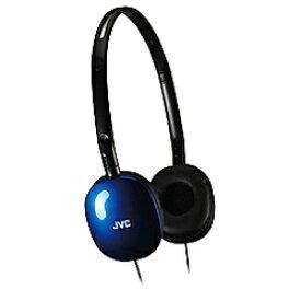 JVC ジェイブイシー ヘッドホン HA-S160-AA ブルー [φ3.5mm ミニプラグ][HAS160AA]