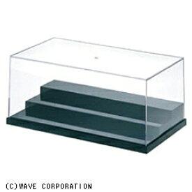 ウェーブ WAVE T・ケース【L】ステージ ベーシックブラック(幅280×高113×奥行150mm 積み重ね可能)