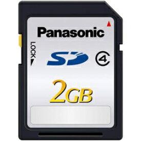 パナソニック Panasonic SDカード SDLシリーズ RP-SDL02GJ1K [2GB /Class4][RPSDL02GJ1K]
