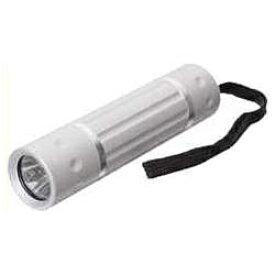 ヤザワ YAZAWA アルミライト シルバー LHE06SV [LED /単4乾電池×3 /防水]