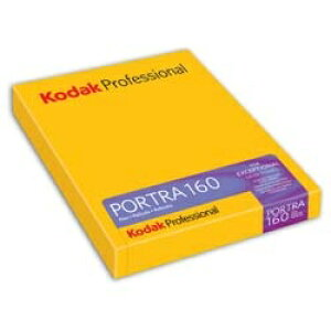 コダック Kodak 【シートフィルム】コダック プロフェッショナル ポートラ 160 4×5(10枚入)[PORTRA1604X510]