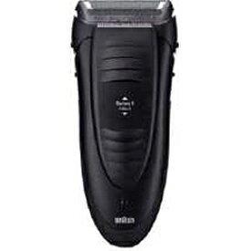 ブラウン BRAUN 190S-1 メンズシェーバー シリーズ1 本体:ブラック ヘッド:ブラック [1枚刃 /国内・海外対応][電気シェーバー 男性 髭剃り 190S1]