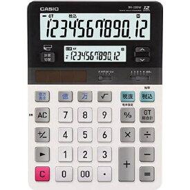 カシオ CASIO ツイン液晶電卓 「デスクタイプ」(12桁) DV-220W-N[DV220WN]