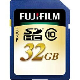 富士フイルム FUJIFILM SDHCカード SDHC-032G-C10 [32GB /Class10][SDHC032GC10]