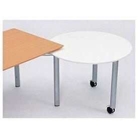 ガラージ fantoni MEサイドテーブル(白) 53-5M97 414-056[535M97] 【メーカー直送・代金引換不可・時間指定・返品不可】