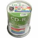 磁気研究所 HIDISC ハイディスク データ用CD-R Hi-Disc ホワイト HDCR80GP100 [100枚 /700MB /インクジェットプリン…