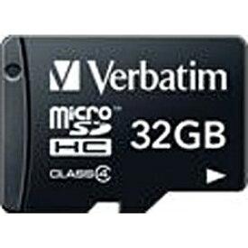 三菱ケミカルメディア MITSUBISHI CHEMICAL MEDIA microSDHCカード Verbatim(バーベイタム) MHCN32GYVZ1 [32GB /Class4][MHCN32GYVZ1]