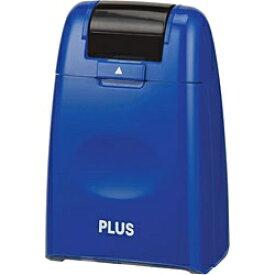 プラス PLUS 個人情報保護スタンプ「ローラーケシポン」(レギュラーサイズ26mm幅・ブルー) IS-500CM-BBL[IS500CMBBL]