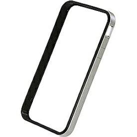 パワーサポート POWER SUPPORT iPhone 4S/4用 フラットバンパーセット (シルバー) PHC-65[PHC65]