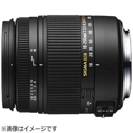 シグマ SIGMA カメラレンズ 18-250mm F3.5-6.3 DC MACRO OS HSM【ニコンFマウント(APS-C用)】[182503.56.3DCMACROOS]