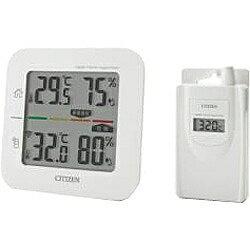 シチズンシステムズ コードレス温湿度計(簡易熱中症指標表示付き) THD501[THD501]
