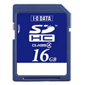 I-O DATA アイ・オー・データ SDHCカード SDH-Wシリーズ SDH-W16G [16GB /Class4][SDHW16G]
